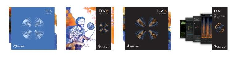 iZotope RX 6 family