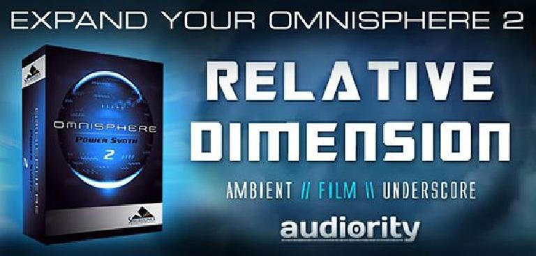 Audiority Relative Dimension for Omnisphere 2 soundpack