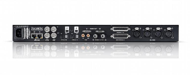 Focusrite Red 4PRE rear