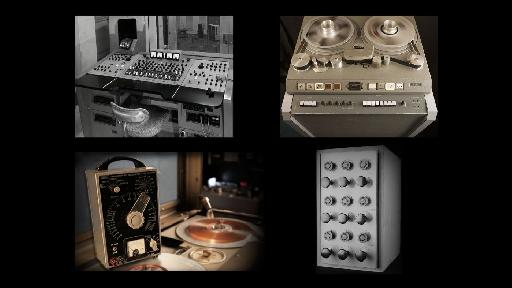 Original equipment, circa the '60s, from Abbey Road Studios.