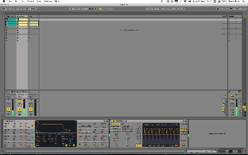 Simple sub-bass sidechained to kick drum.