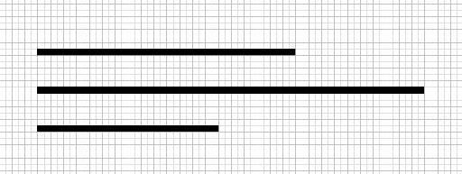 3 rectangles