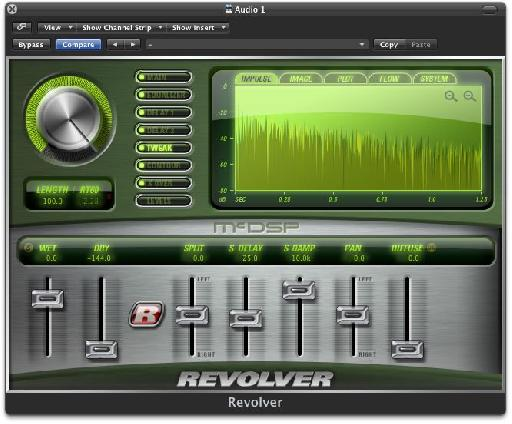 Revolver's stereo features.