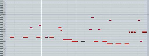 The extra notes are added in Logic