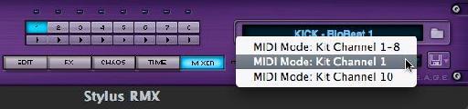 The 3 MIDI modes