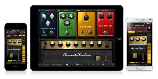 The iRig works with just about any guitar app you can find, including IK's own AmpliTube.