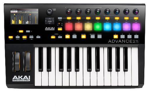 Let's start with the smallest: The Akai Pro Advance 25.