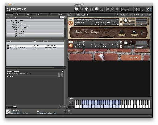 Of the free instruments, Atomraffe is pretty strange but Intimate Strings is excellent.