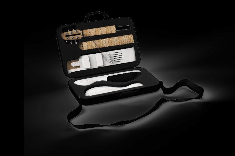 Slite guitar in case