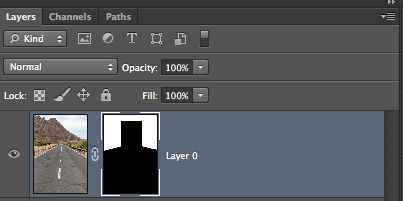 The layer mask so far...