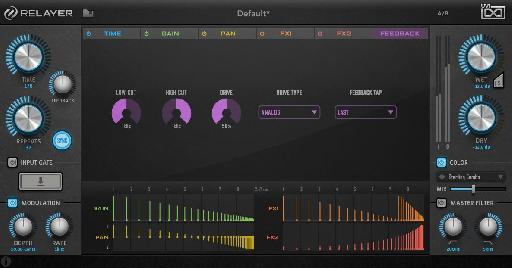 UVI Relayer feedback screen.