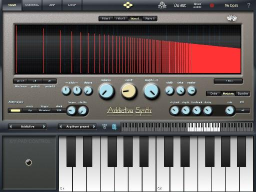 Addictive Synth interface