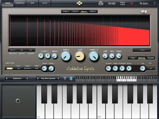 Addictive Synth interface