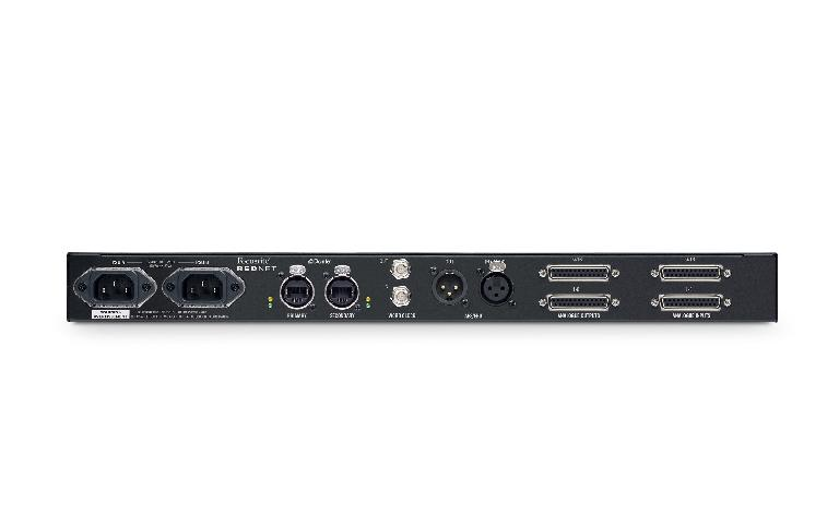 Focusrite RedNet A16R rear view