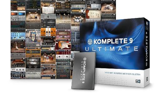 (Pic 4) Komplete Ultimate 9 gives you everything you need for your productions.