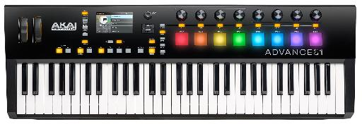 And finally we have the Akai Pro Advance 61.