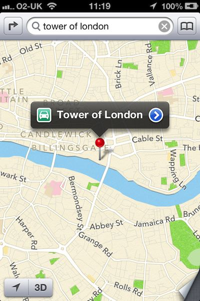 Maps are all new in iOS6 with Google out and Apple in. It's not'¦.quite the same yet.