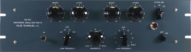 Pultec Mastering EQ plugin