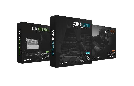 Cakewalk Sonar now comes in three flavors which can be purchased up front, or as part of a monthly subscription model.