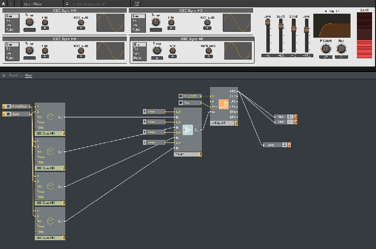 The new ensembles and instruments in Reaktor 6