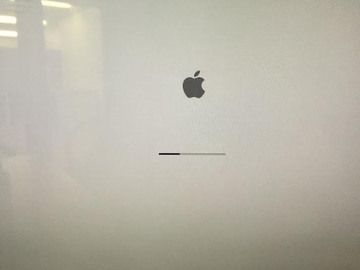 Firmware progress bar.