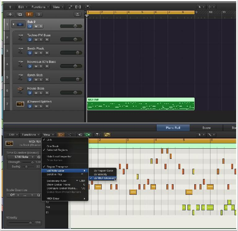 Change Sounds, When Changing MIDI Notes