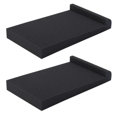 Isolation pads for speakers don't have to be costly and can really tighten up the bass