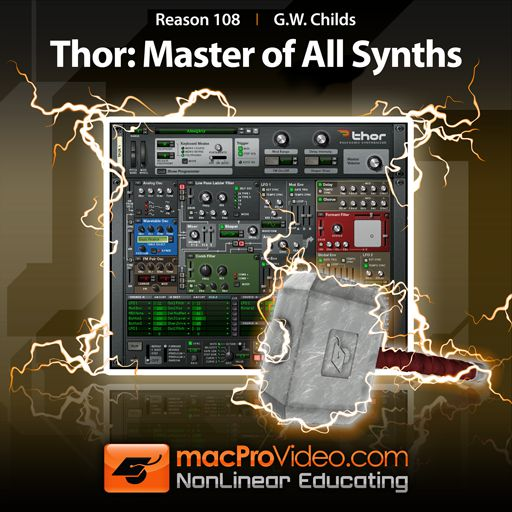 New Reason Thor Tutorials exclusively available at macProVideo.com!