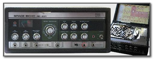 Fig 5: A Roland Space Echo, a classic tape-based delay device