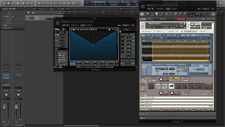 Feeling limited? You can always can increase your sampler's LFO flexibility by using a third-party modulation plugin, like the popular Xfer LFO Tool.