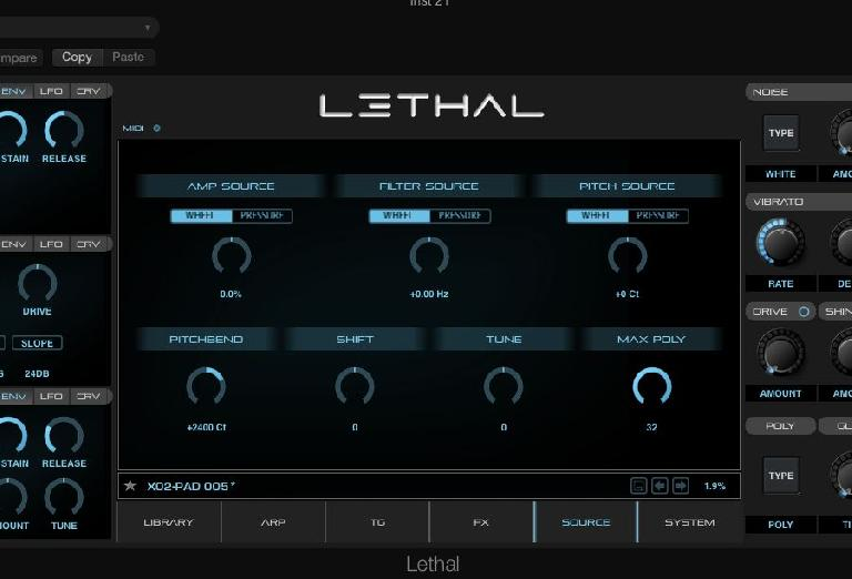 Lethal Audio Synth  5
