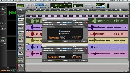 Fig 5 The Quick APT & Quick Doubler AudioSuite plug-ins (for Pro Tools) let you use Revoice's tools without leaving the DAW.