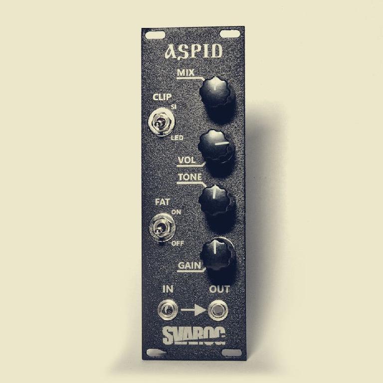 Svarog Aspid bass processor eurorack module.