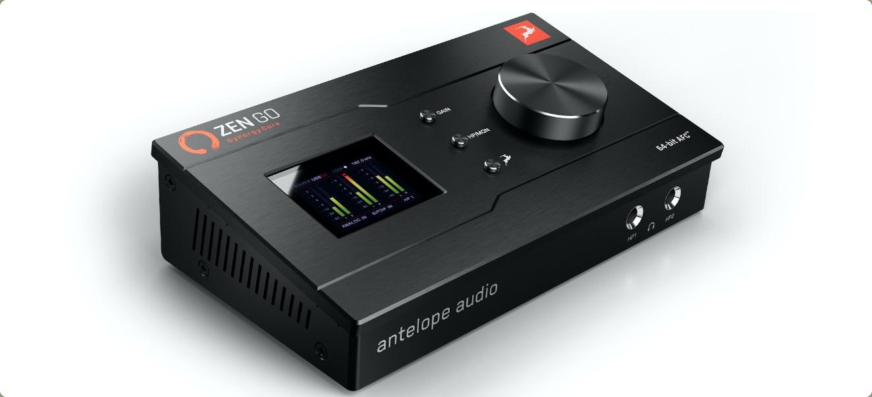 Antelope Audio Announces Zen Go Synergy Core, Bus-Powered, Portable Audio Interface