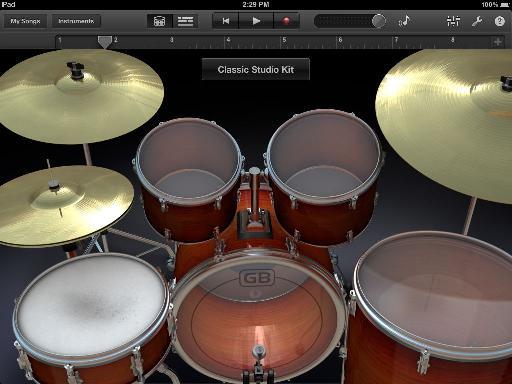 GarageBand's Drums.