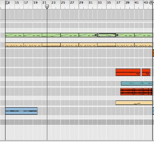 A 30 minute composition in Ableton Live