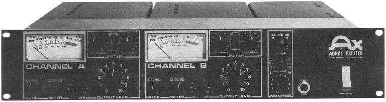 The original Aphex Aural Exciter...