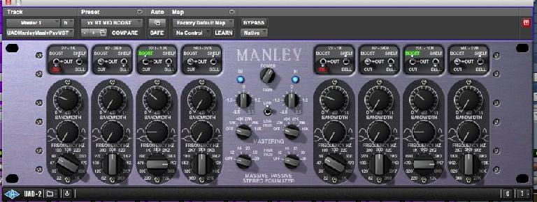 Manley Passive EQ from UAD