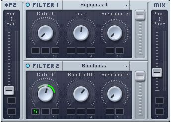 Filter Cutoff Modulation