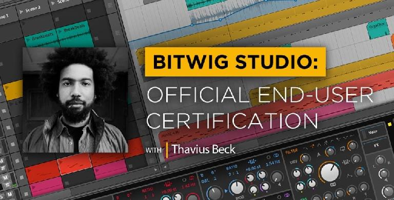 Bitwig Studio Certification