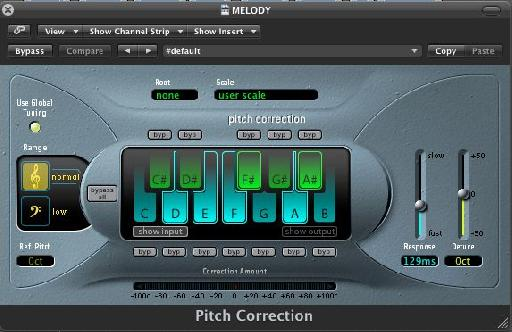 Pitch Correction plugin