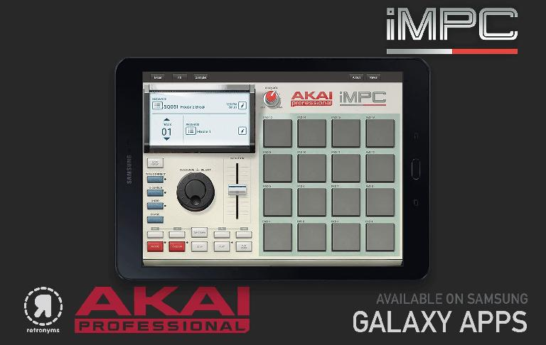 Akai iMPC For Samsung Galaxy
