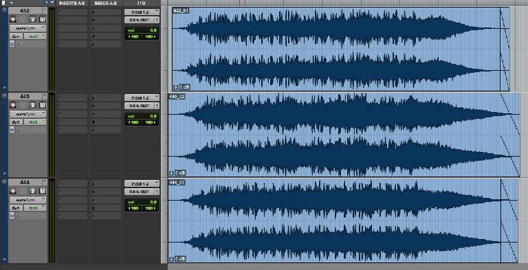 Audio Examples recorded in Pro Tools from Torkom Ji's Korg Electribe.