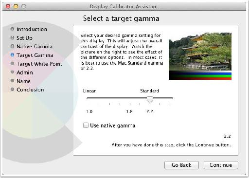 Target Gamma 2.2 is what you want.