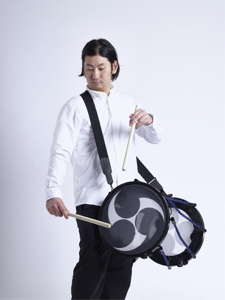 Taiko electronic drum performance