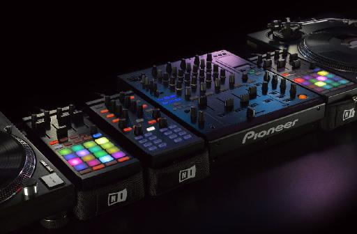 The F1 should fit nicely into just about any DJ set up.