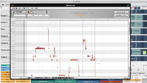 Melodyne is integrated right into Tracktion 6.