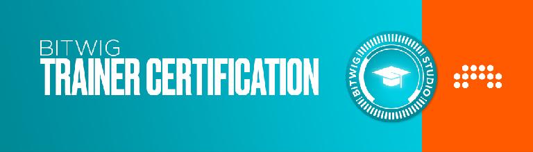Bitwig Trainer Certification