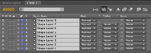 Selecting layers