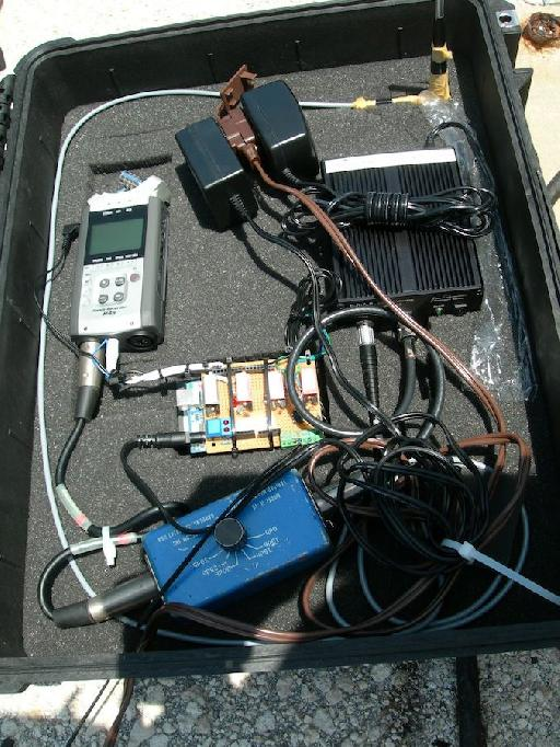 A look inside Benny Burtt's field recording bag of tricks.